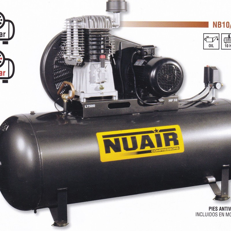 Compresores de Piston Fijo Marca: Nuair