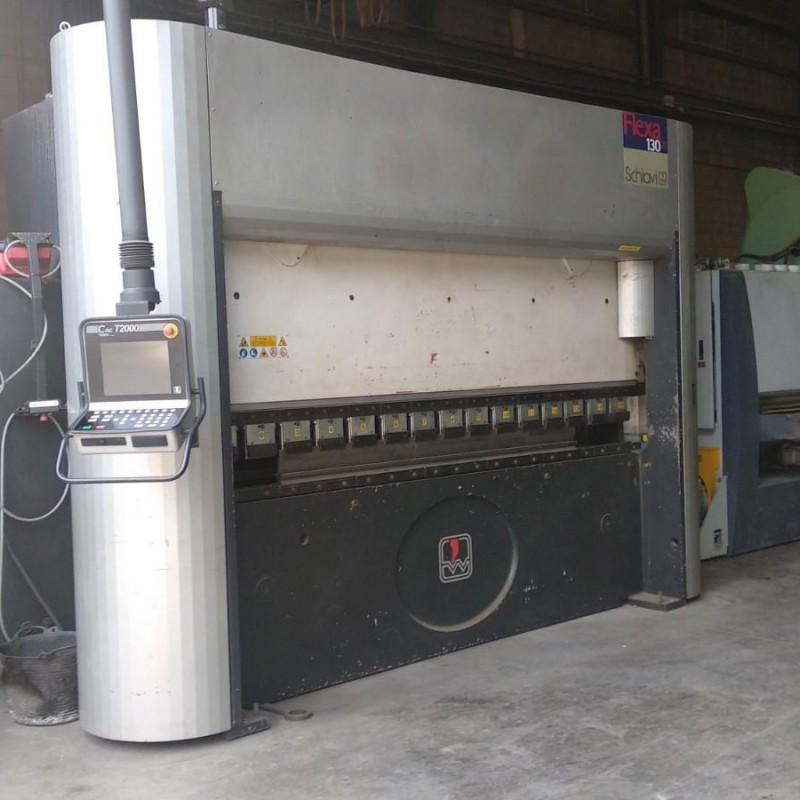 Prensa Plegadora Hidraulica CNC, 130Tm Marca: FLEXA 130/30 SCHIAVI